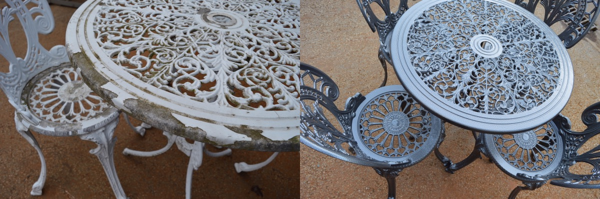 Garden Furniture Refurbished